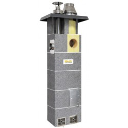System kominowy HOCH DUO gaz  FI 200 6m