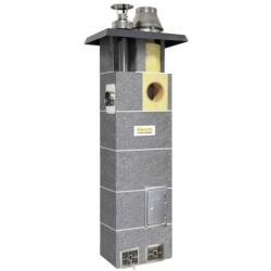 System kominowy HOCH DUO gaz  FI 180 6m