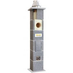 System kominowy ceramiczny HOCH UNIWERSAL FI 180 8mb