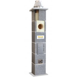 System kominowy ceramiczny HOCH UNIWERSAL FI 180 7mb