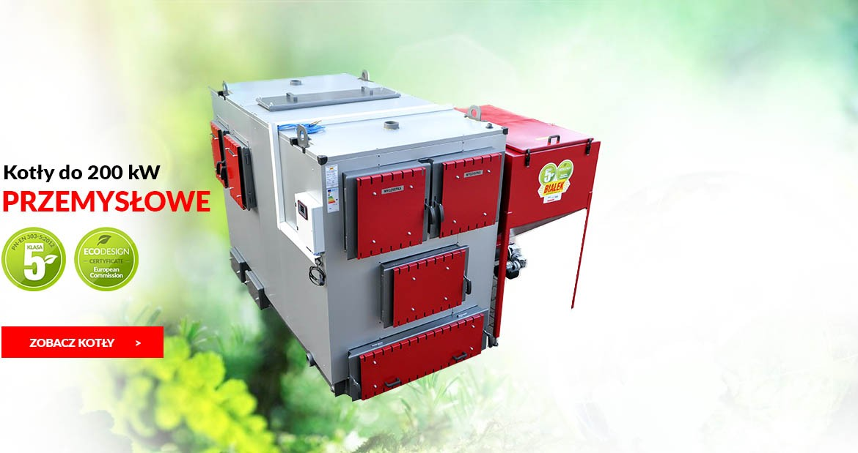 Kotły przemysłowe 5 klasy do 200 kW